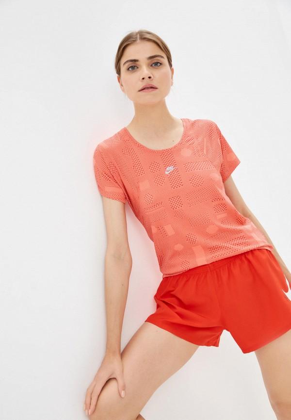 женская спортивные футболка nike
