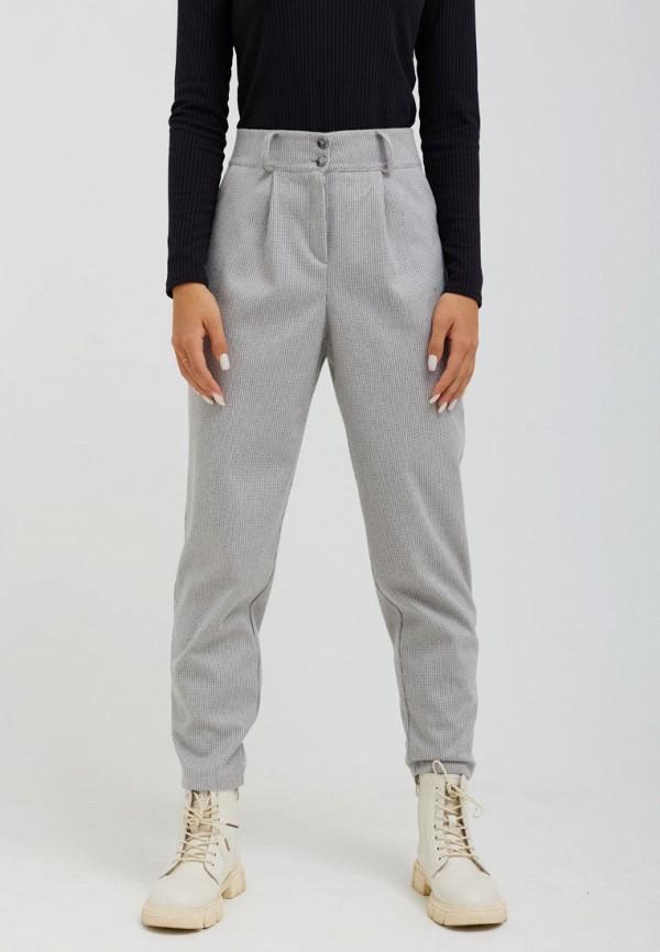 женские повседневные брюки seventeen, серые