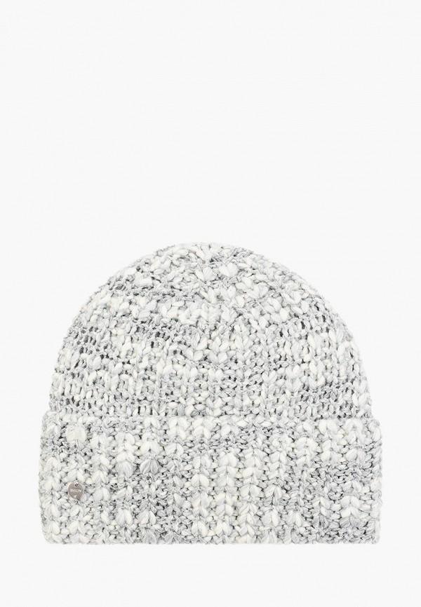 женская шапка baon, серая