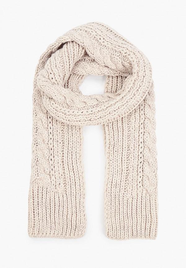 женский шарф baon, бежевый