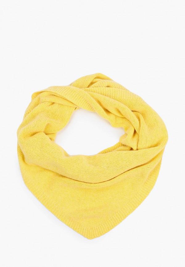 женский платок baon, желтый