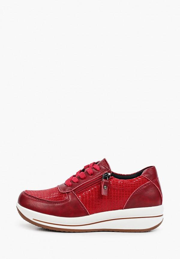 женские низкие кроссовки quattrocomforto, красные