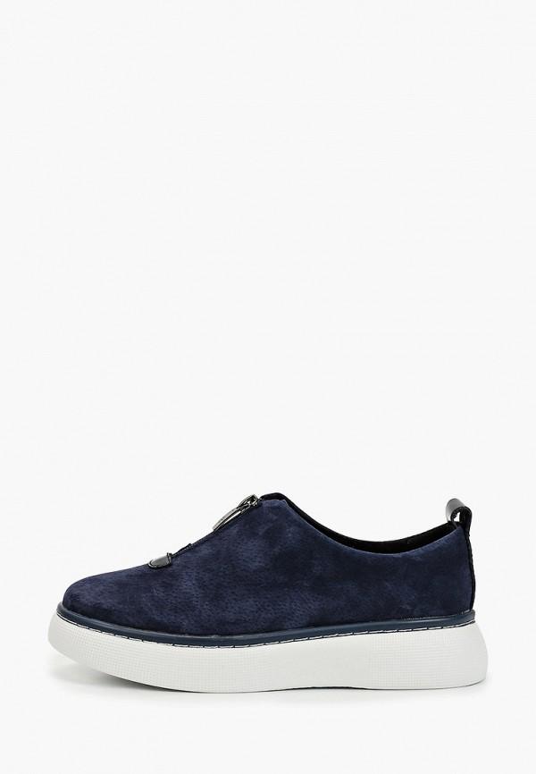 женские низкие ботинки quattrocomforto, синие