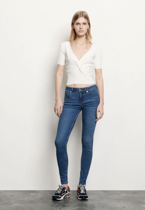 женские джинсы sandro, синие
