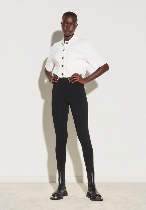 женские повседневные брюки sandro, черные