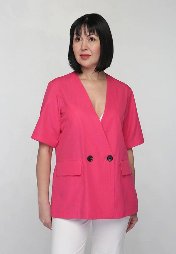 женский жакет chiua's, розовый