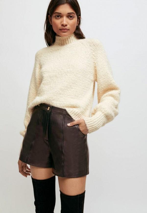 женский свитер maje, бежевый