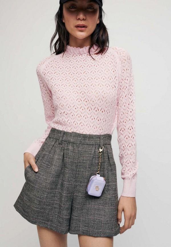 женский свитер maje, розовый