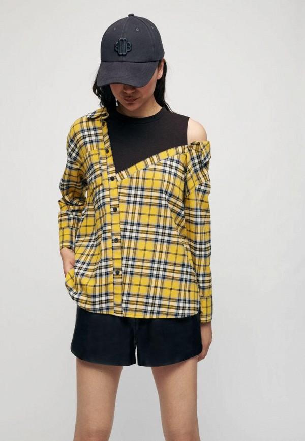 женская блузка maje, желтая