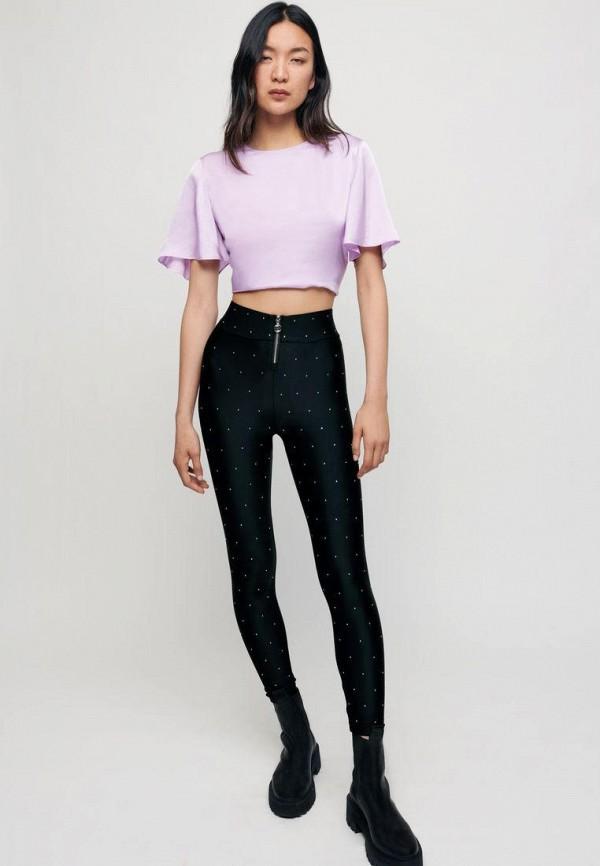 женские классические брюки maje, черные