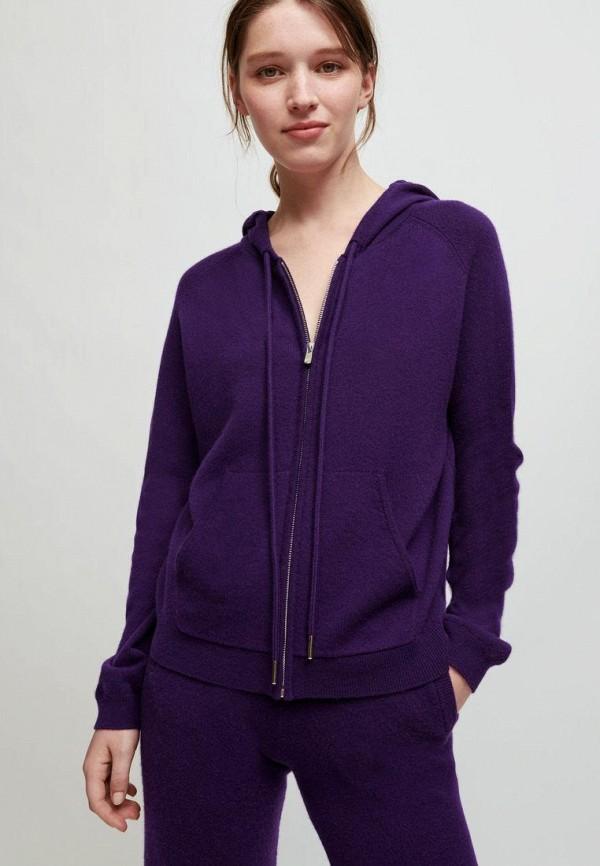 женская толстовка maje, фиолетовая