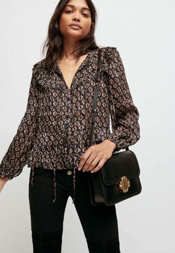женская блузка maje, черная