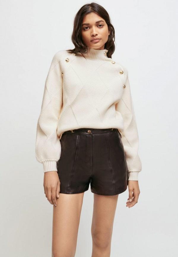 женский свитер maje, белый