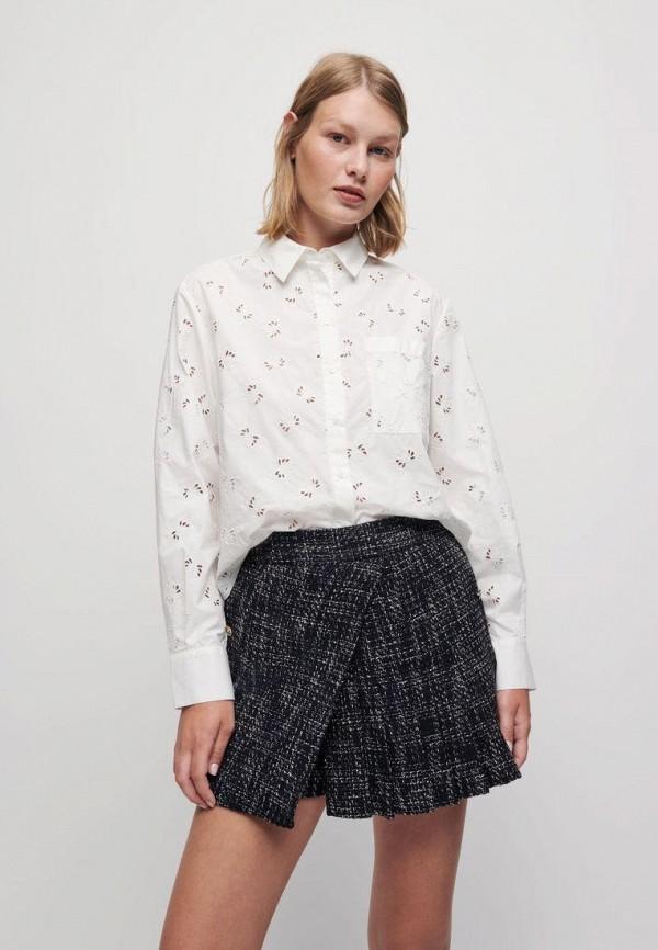 женская блузка maje, белая