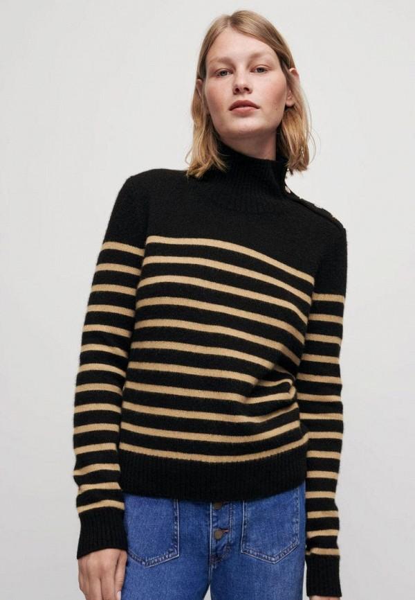 женский свитер maje, черный