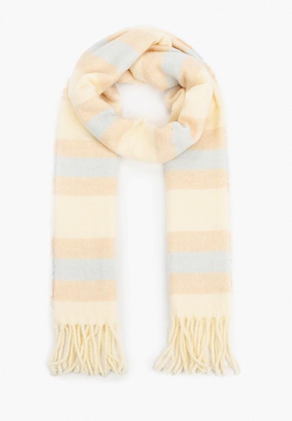 женский шарф sela, бежевый