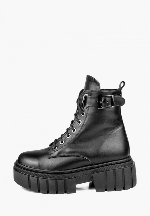 женские ботинки r&y, черные