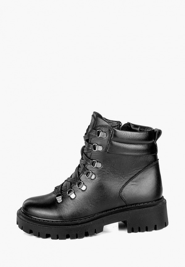 женские ботинки my day, черные