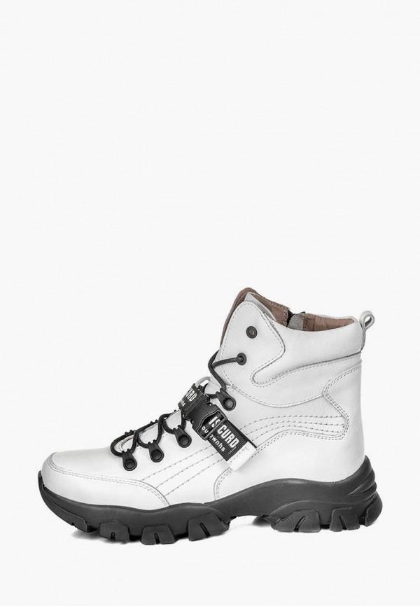 женские ботинки my day, белые
