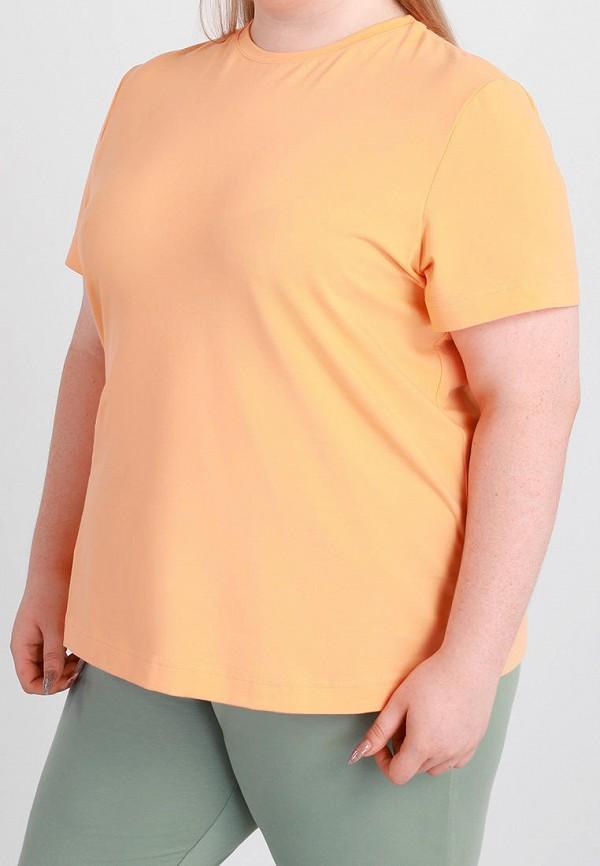 женская футболка promin, оранжевая