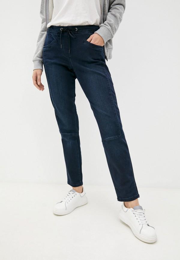 женские джинсы скинни taifun, синие