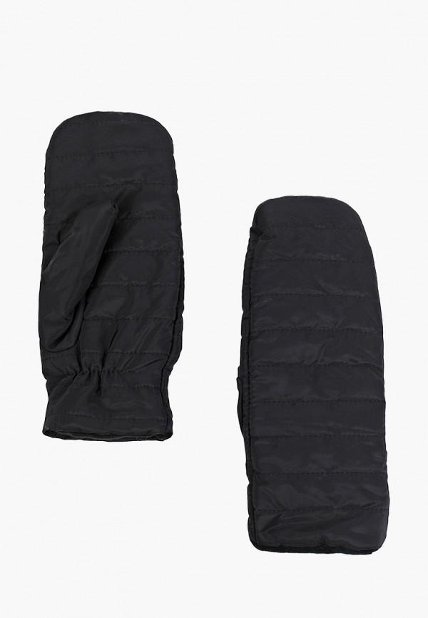женские варежки sela, черные