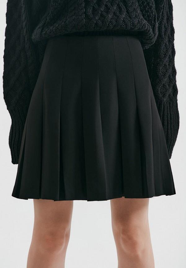 женская юбка-трапеции love republic, черная