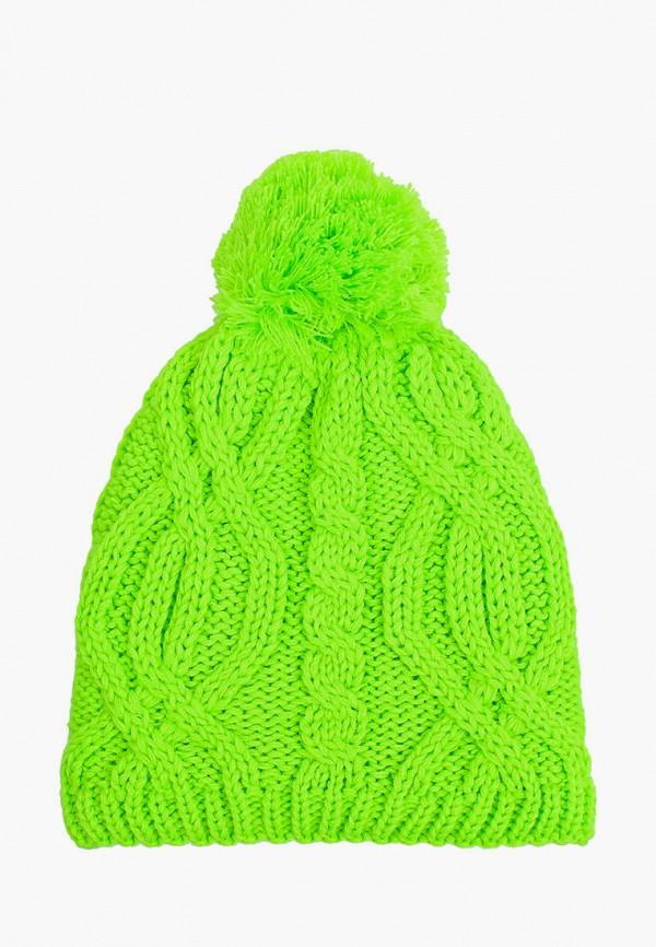 женская шапка hatparad, зеленая