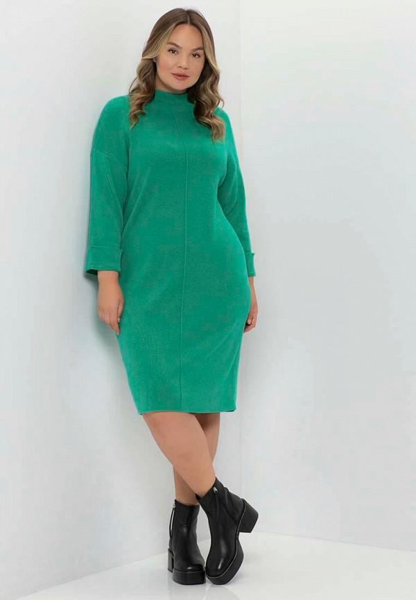 женское платье-свитеры samoon by gerry weber, бирюзовое