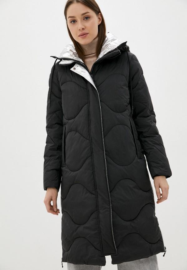 женская утепленные куртка colin's, черная