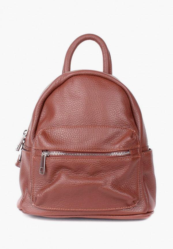 женский рюкзак bella bertucci, коричневый