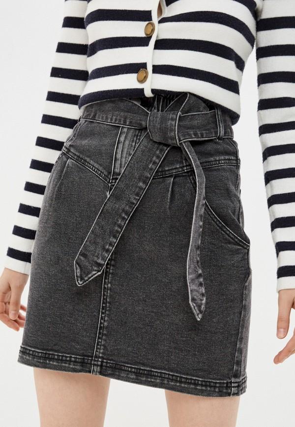 женская джинсовые юбка tezenis, серая