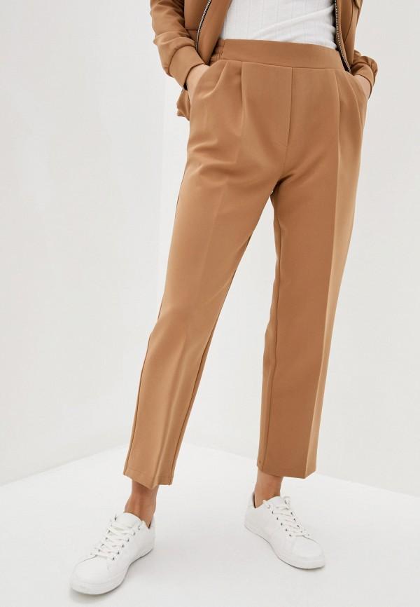 женские классические брюки zubrytskaya, бежевые