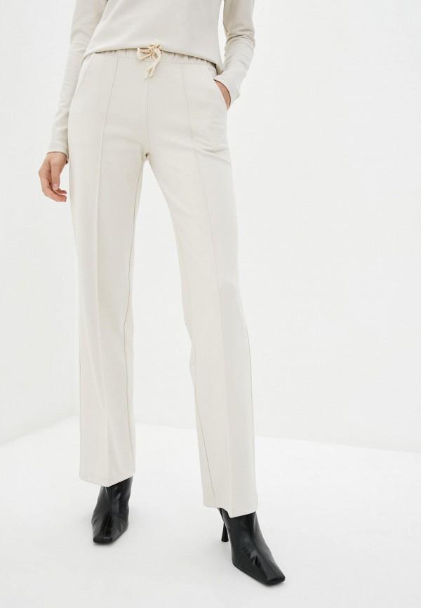женские прямые брюки zubrytskaya, белые