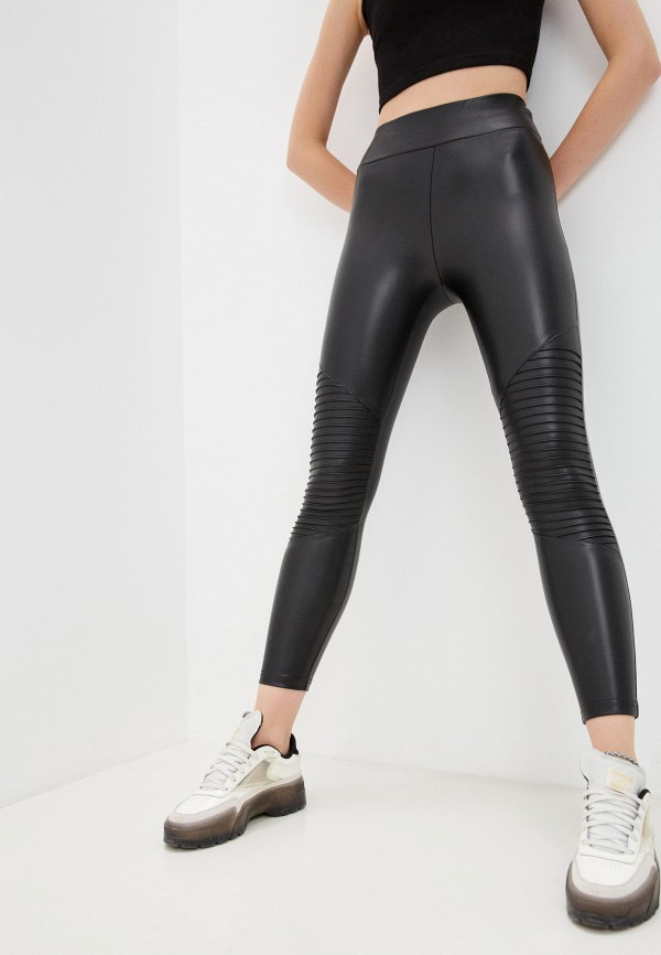 женские леггинсы gloria jeans, черные