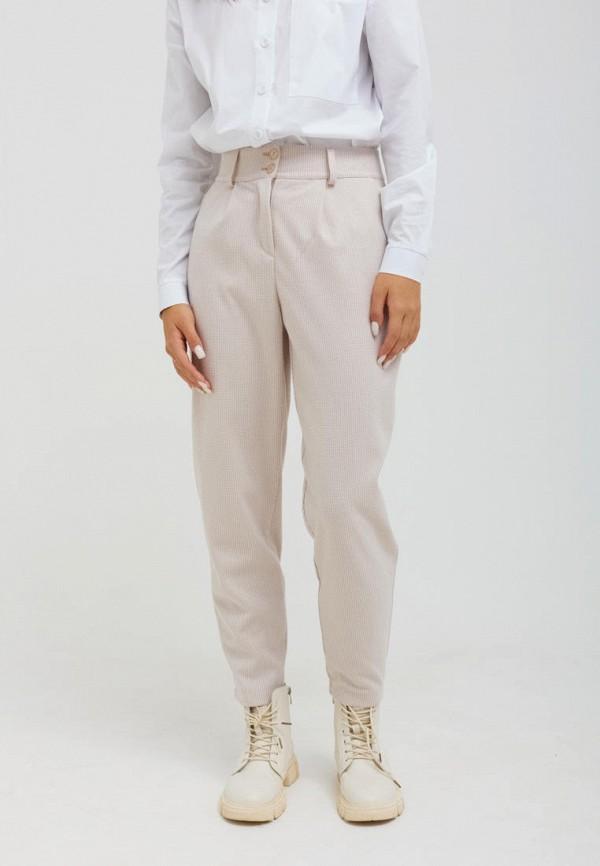 женские повседневные брюки seventeen, бежевые