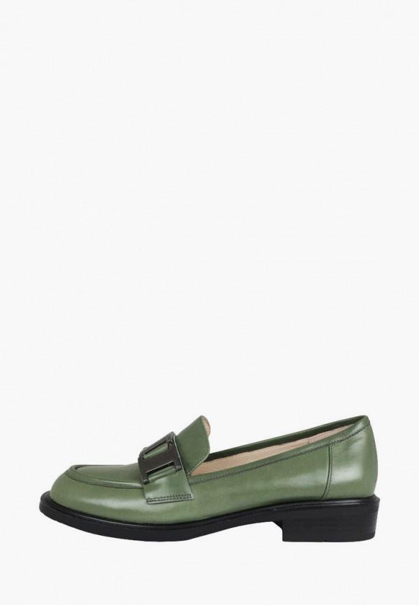 женские лоферы blizzarini, зеленые