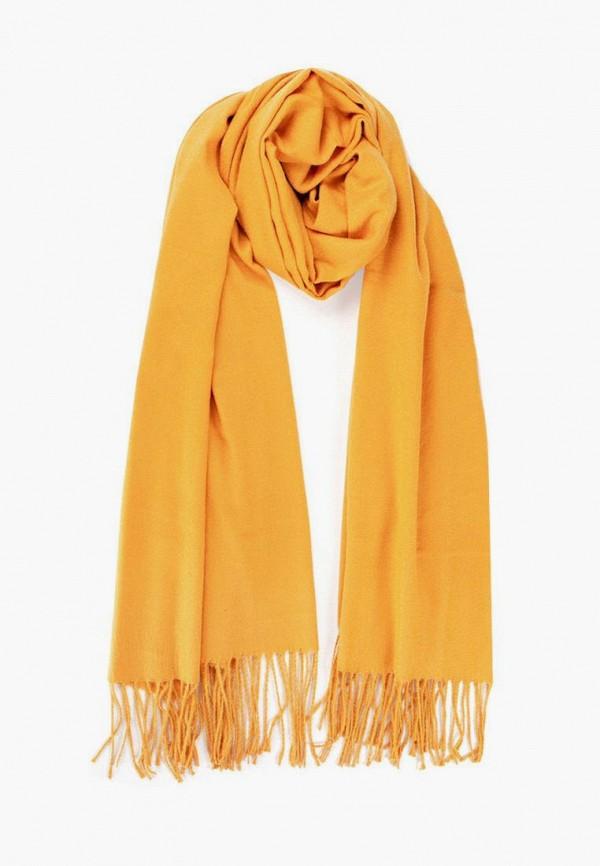 женский палантин silvio merlini, желтый