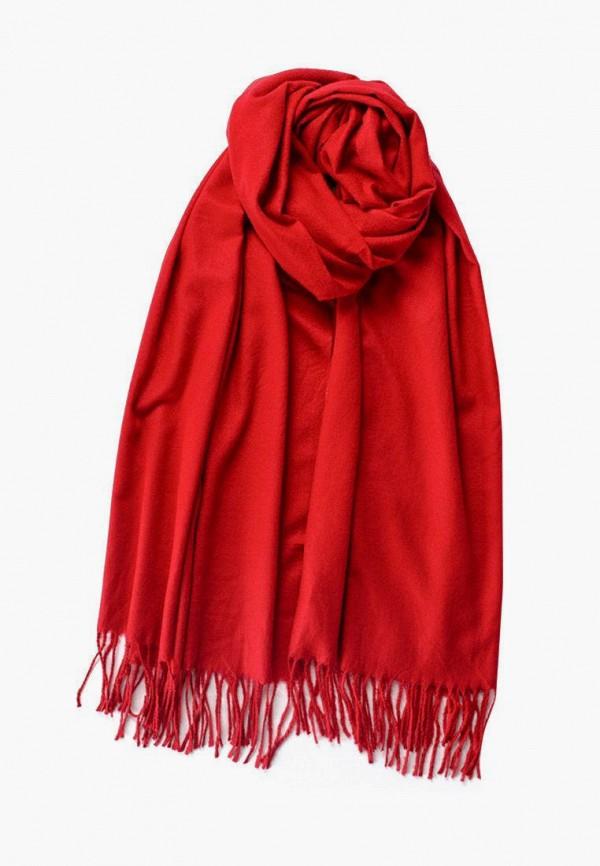 женский палантин silvio merlini, красный
