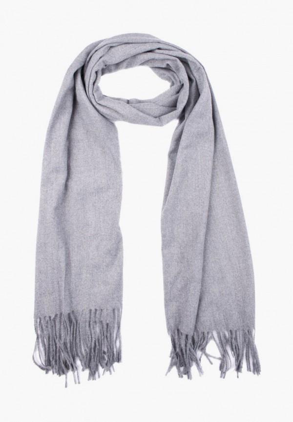 женский палантин silvio merlini, серый