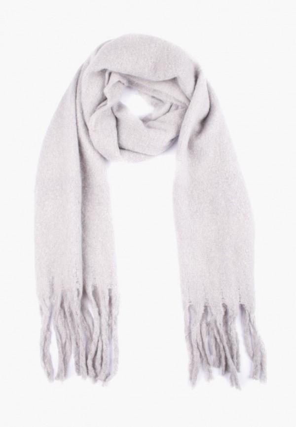 женский шарф silvio merlini, серый
