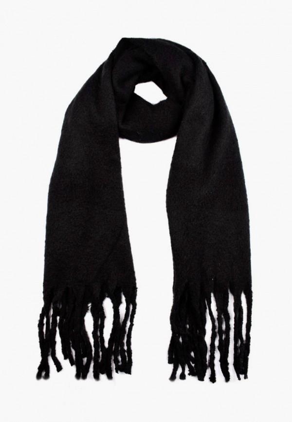 женский шарф silvio merlini, черный