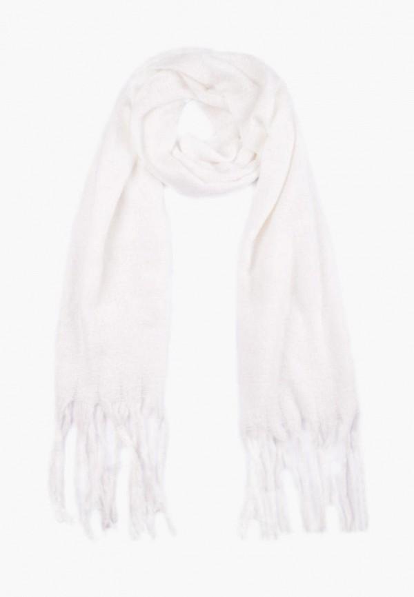 женский шарф silvio merlini, белый