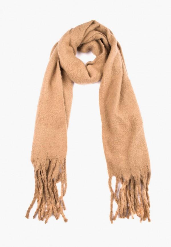 женский шарф silvio merlini, коричневый