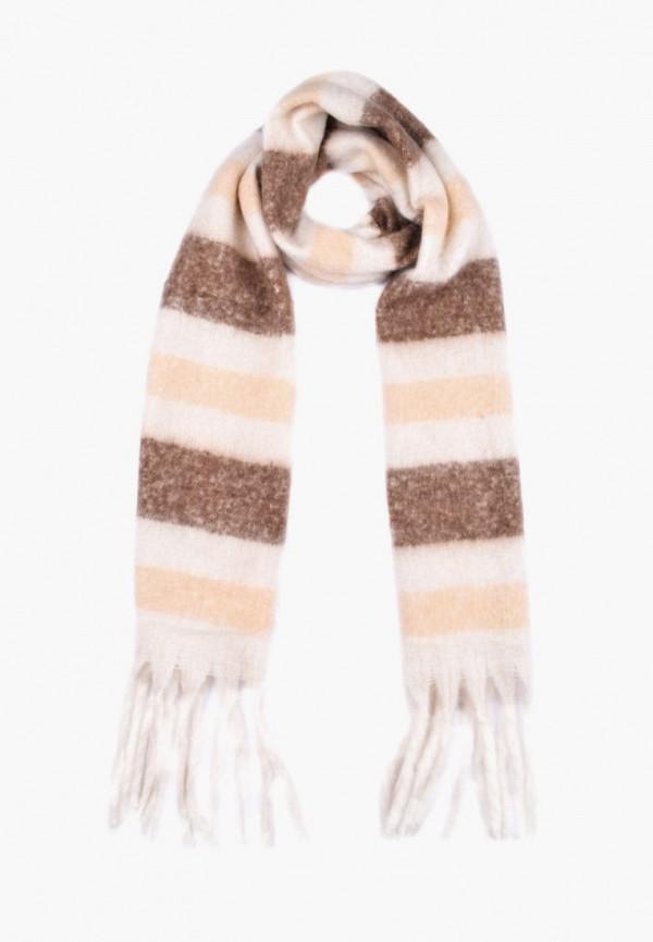 женский шарф silvio merlini, бежевый