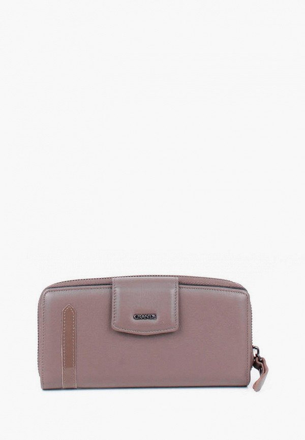 женский кошелёк grande, бежевый