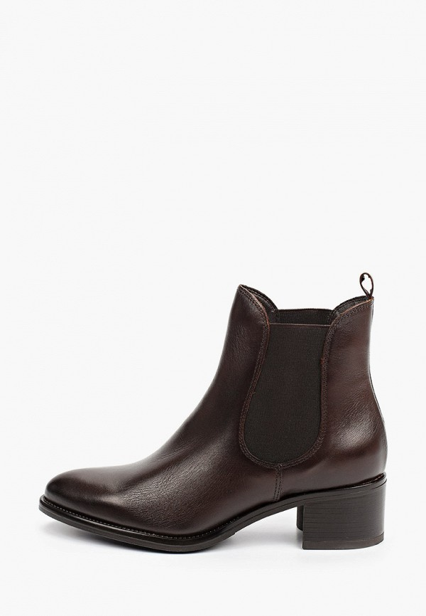 женские ботинки-челси rococo', коричневые