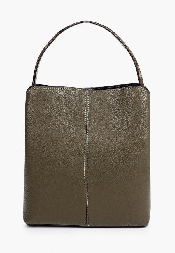 женская сумка с ручками ekonika, хаки