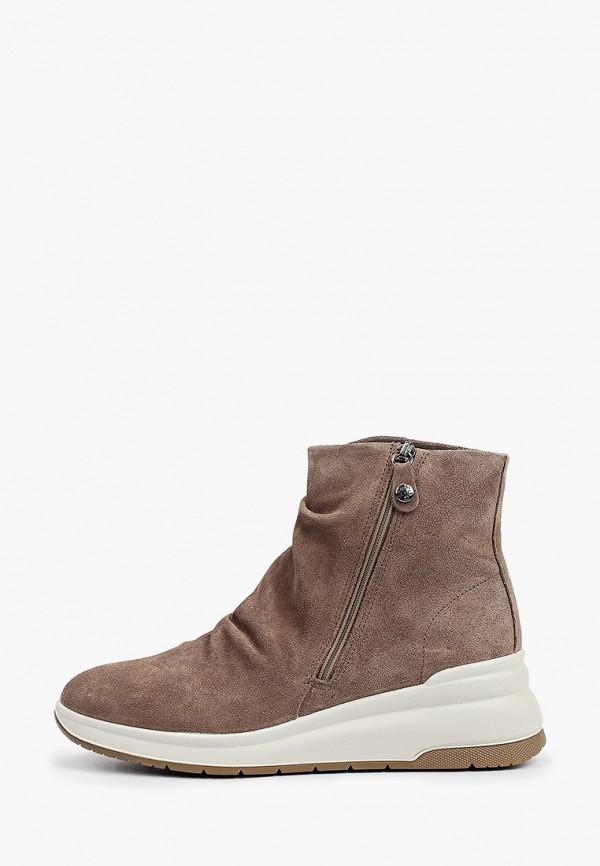 женские высокие ботинки imac, коричневые