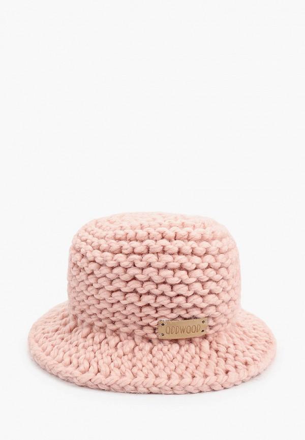 женская панама oddwood, розовая